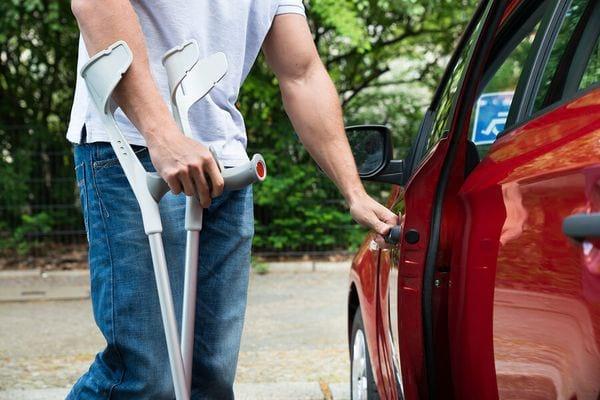Инвалид водитель